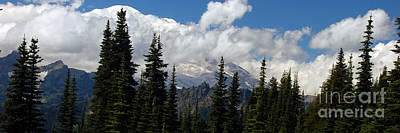 Photograph - Mt. Rainier Panorama IIi  by Chuck Flewelling