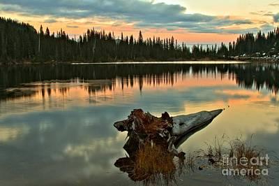 Photograph - Mt. Rainier Reflection Lake by Adam Jewell