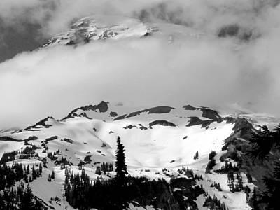 Photograph - Mt. Rainier by Spencer Bodian