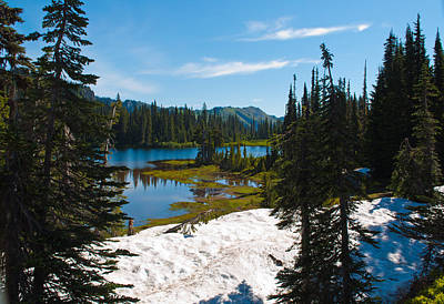 Photograph - Mt. Rainier Wilderness by Tikvah's Hope