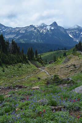 Photograph - Mt. Rainier's Secret by Joelle Bhullar