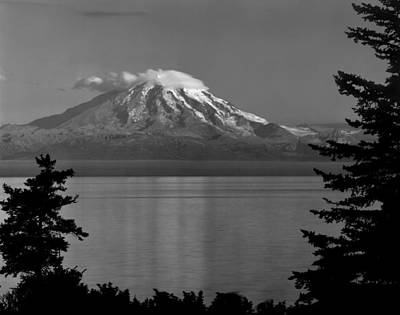 Photograph - 1m1501-mt. Redoubt, Alaska by Ed  Cooper Photography