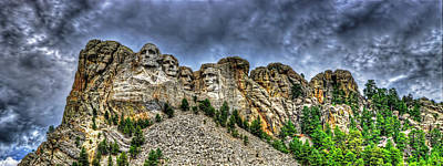 Photograph - Mt Rushmore by Jim Boardman