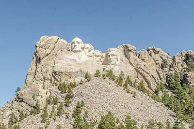 Photograph - Mt. Rushmore National Memorial by Dakota Light Photography By Dakota