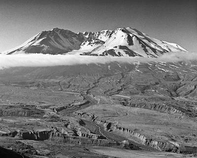 Photograph - Mt Saint Helens Johnston Ridge by Joe  Palermo