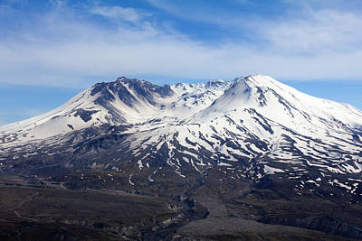 Photograph - Mt Saint Helens by Leah Palmer