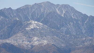 Photograph - Mt. San Jacinto Palm Springs by Patrick Morgan