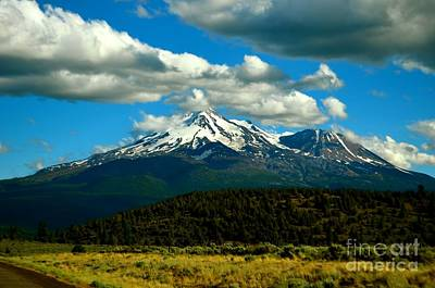 Photograph - Mt. Shasta   by Johanne Peale