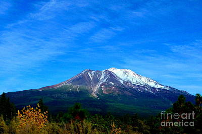 Mount Shasta Photograph - Mt. Shasta 3a by Joshua Greeson