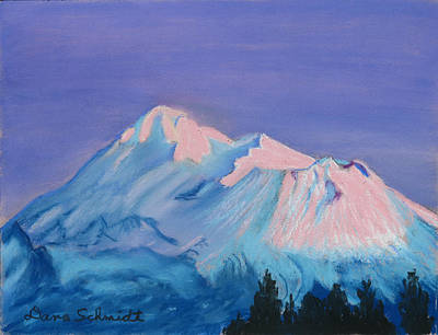 Painting - Mt. Shasta California by Dana Schmidt
