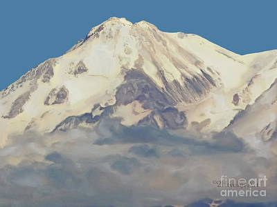 Photograph - Mt. Shasta Summit by Methune Hively