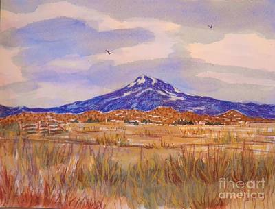 Painting - Mt. Shasta by Suzanne McKay