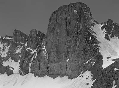 Photograph - 406427-mt. Sill, Bw by Ed  Cooper Photography
