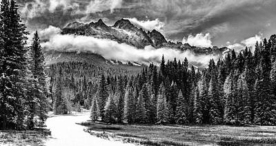 Mt Sneffels Art Print by Steven Reed