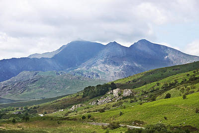 Photograph - Mt Snowdon From Dyffryn Mymbyr by Jane McIlroy