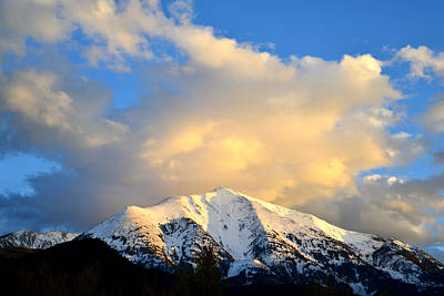 Photograph - Mt. Sopris 1 by Ray Mathis