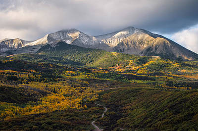 Photograph - Mt. Sopris by Aaron Spong
