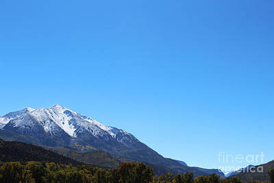 Photograph - Mt. Sopris by Kate Avery
