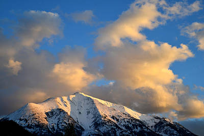 Photograph - Mt. Sopris Sunset 2 by Ray Mathis
