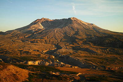 Mt St Helens From Johnsons Observatory Art Print by Jeff Swan