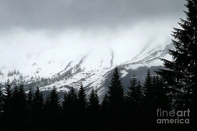 Mt St Helens........a Looming Storm Art Print by Rich Collins