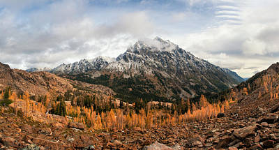 Photograph - Mt. Stuart by Brian Bonham