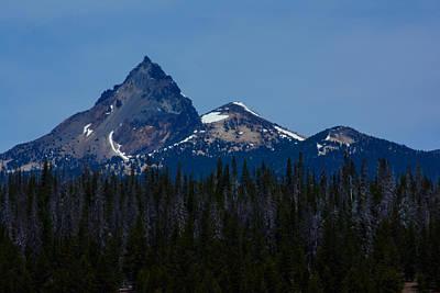 Photograph - Mt. Thielsen by Tikvah's Hope