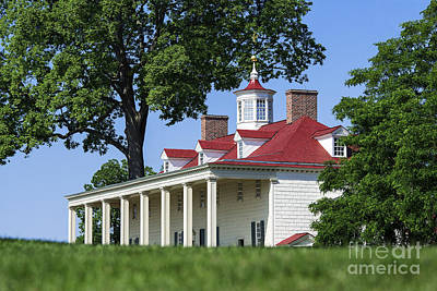 Politicians Royalty-Free and Rights-Managed Images - Mt Vernon Mansion by John Greim