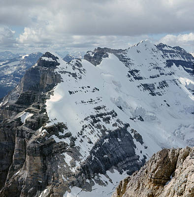 Photograph - T-703510-mt. Victoria Seen From Mt. Lefroy by Ed  Cooper Photography