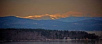 Mt. Washington Alpenglow Original by John Hufstader