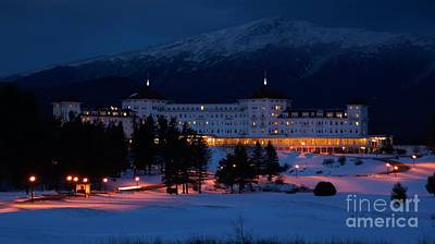 Photograph - Mt. Washington Hotel. by New England Photography
