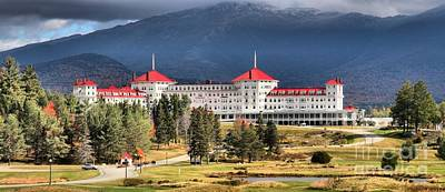Photograph - Mt Washington Omni Resort  by Adam Jewell