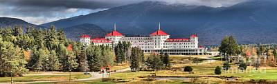 Photograph - Mt Washington Onmi Resort Panorama by Adam Jewell