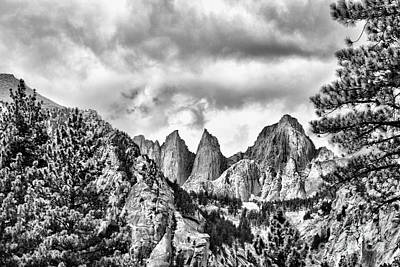 Photograph - Mt. Whitney by Peggy Hughes