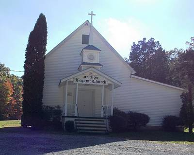 Photograph - Mt. Zion Baptist Church by Regina McLeroy