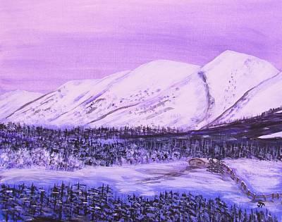 Kenai Mountain Ranch In Alaska Original by JC Townsend