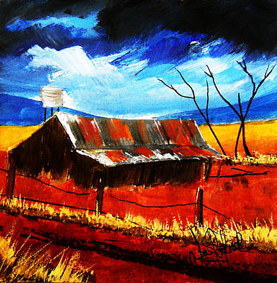 Homestead Mixed Media - Much To Fix by Sean Roderick