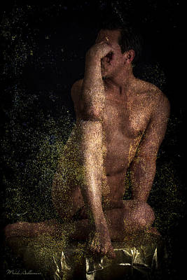 Sensual Digital Art - Much Younger by Mark Ashkenazi