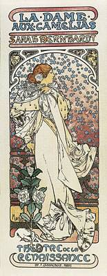 Mucha, Alphonse Maria 1860-1939. The Art Print