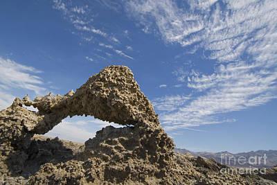Photograph - Mud Arch At Devil's Golf Course by Dan Suzio