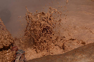 Photograph - Mud Explosion 2 by Jon Emery