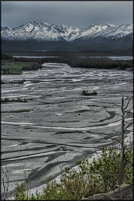 Photograph - Mud Flats by Erika Fawcett