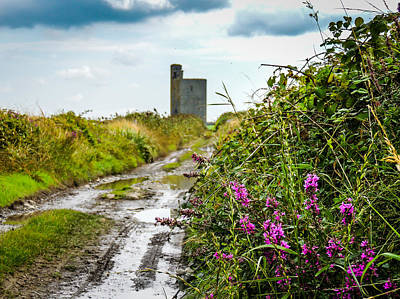 Photograph - Muddy Path To Tromra Castle by James Truett