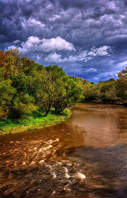 Photograph - Muddy Waters And Dark Skies In Cherokee County by Greg Mimbs
