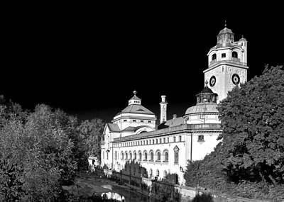 Photograph - Mueller'sches Volksbad - Munich Germany by Christine Till