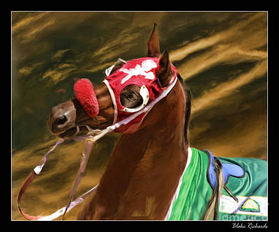 Mufv It On Over The Horse Art Print