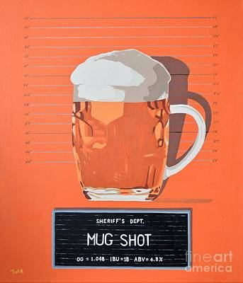 Painting - Mug Shot by Laura Toth