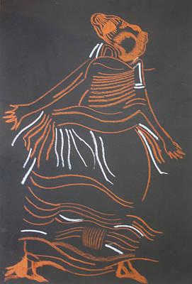 Muganda Lady - Uganda Art Print by Gloria Ssali