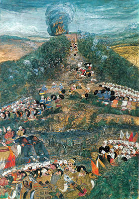 Safavid Painting - Mughal-safavid War, Siege Of Kandahar by Science Source