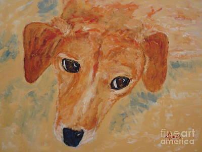Painting - Mugle Beagle by Shelley Jones